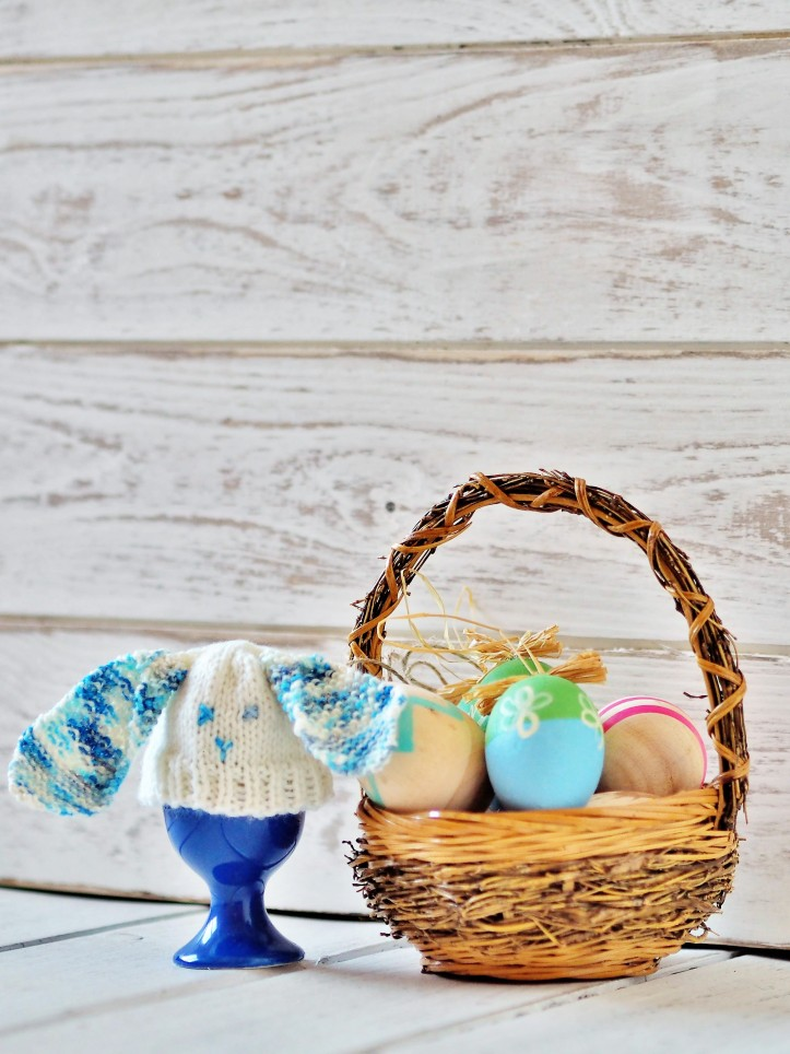 Easter egg cosies onepurlrow if youd like to make a cute floppy eared bunny egg cosy like the one above you can find the pattern here they make great little easter gifts negle Choice Image