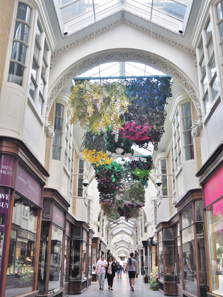 The Burlington Arcade, London